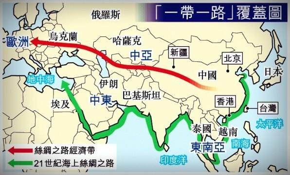 中國-one band one road-一帶一路-計畫