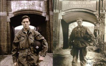 DAMIAN LEWIS VS REAL MAJOR DICK WINTERS
