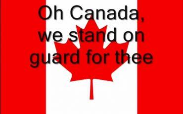 加拿大-國歌-OCANADA-北美洲-雙語系-國家-英語-法語-中文-國語-粵語-普通話-歌詞-版本