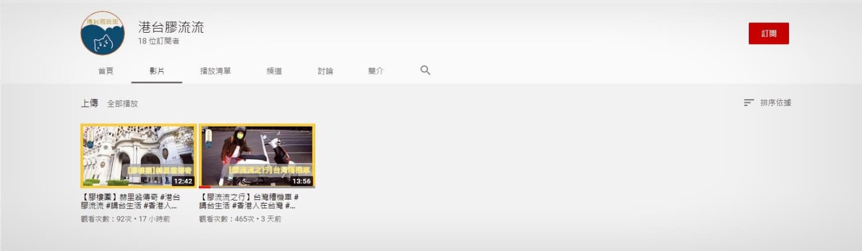 港台膠流流-香港-YOUTUBER-網紅-YTER-亞洲-新住民-移民-投資-工作-開店-台灣